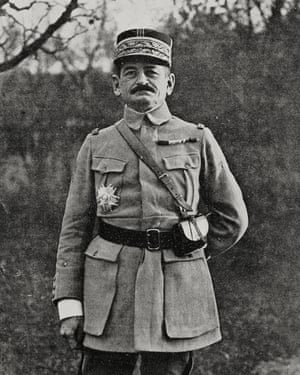 French general Charles Mangin.