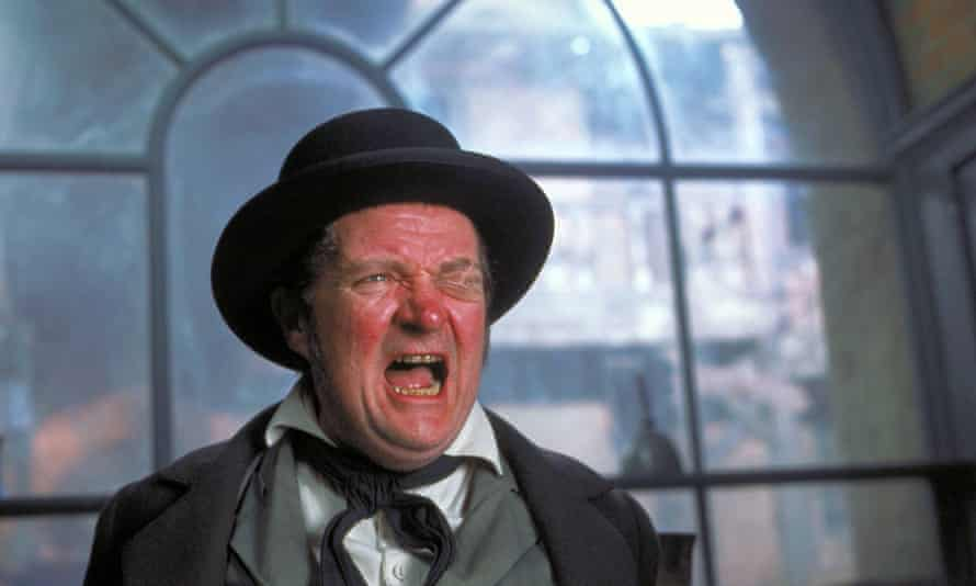 Jim Broadbent as Wackford Squeers in the 2002 film version of Nicholas Nickleby, directed by Douglas McGrath.