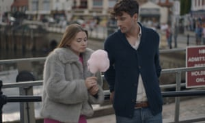 Passionate conviction … Jessica Barden and Edward Hogg in Scarborough.