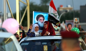 Car with children enters Green Zone of Baghdad