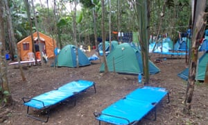 "A BGP fly camp in the Bolivian Amazon where company teams have reportedly had near encounters with indigenous people in ""isolation."""