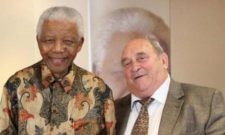Denis Goldberg with Nelson Mandela in 2009.
