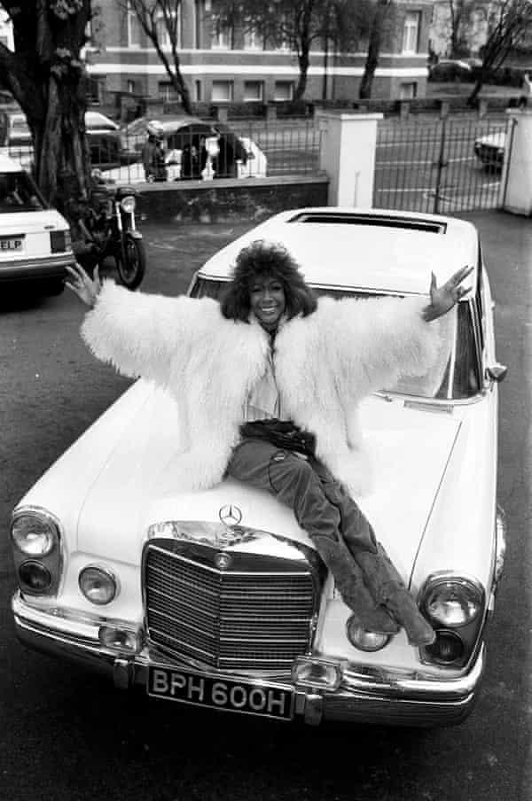 Mary Wilson in London in 1989.