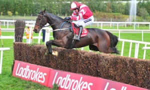 Total Recall on his way to victory in the Munster National in October.