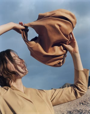 The sky's the limit On The Horizon, the new range of wardrobe essentials from Cos, includes modern, easy-to-wear silhouettes that are perfect for the changeable weather of early summer – as well as for stylishly wafting around your home in. Check out the crafted tan leather accessories, such as this bag. £135, cosstores.com