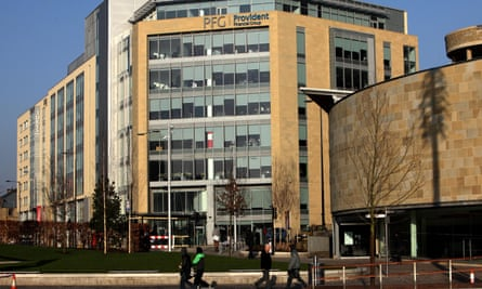 Provident Financial headquarters in Bradford, West Yorkshire.