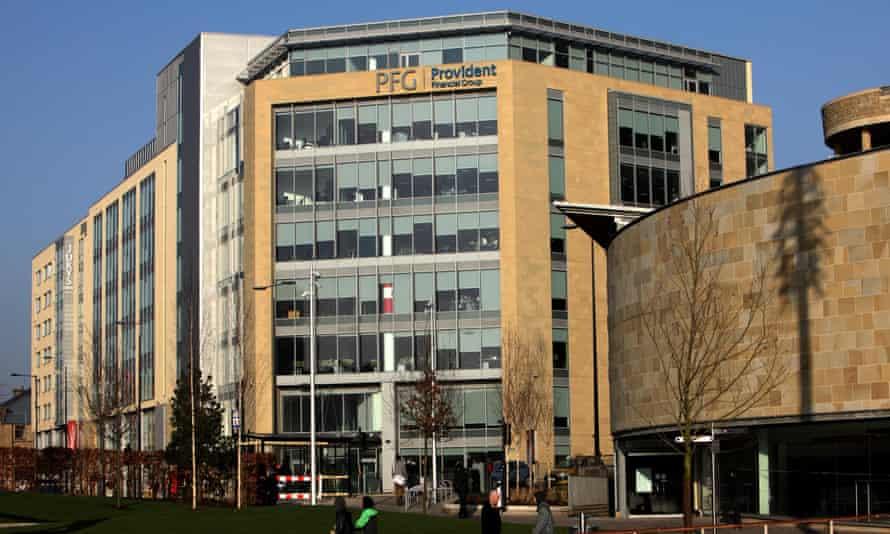 Provident Financial head office in Bradford