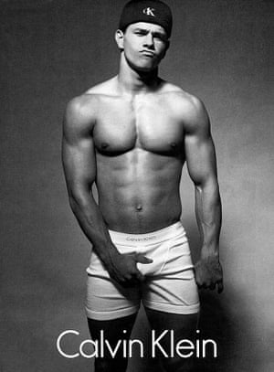 Mark Wahlberg in Calvin Klein. From the Calvin Klein Advertising Archives.