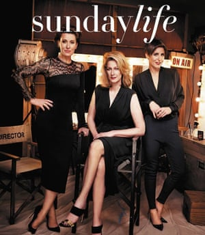 8191752f2c42 The Weekly Beast: 'Charlie's Angels' shot ruffles feathers at the ABC
