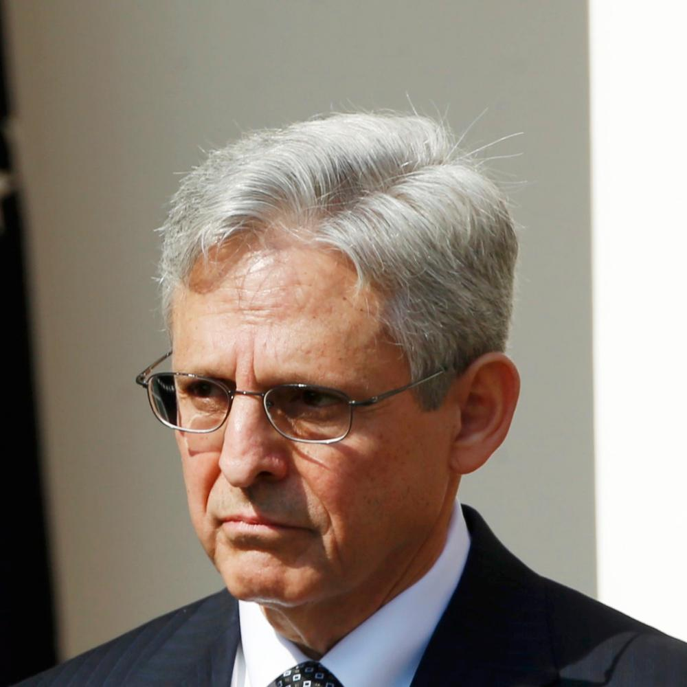 US President Barack Obama announces Judge Merrick Garland of the United States Court of Appeals as his nominee for the U.S. Supreme Court at White House in Washington