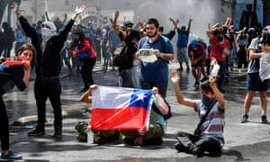 ' Inequality in Chile is scandalous and most middle-class Chileans live in precarity.'