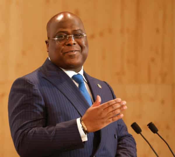 Félix Tshisekedi, DRC president
