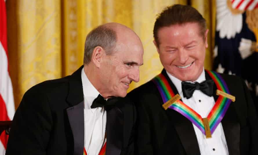 James Taylor and Eagles band member Don Henley.