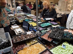 The Gem and Mineral Show in Tucson, Arizona in 2014.