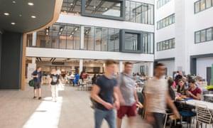 Ealing new campus interior