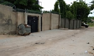 The offices of Action Against Hunger in Maiduguri, which have been shut down by the military