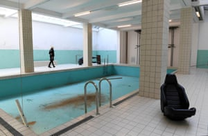 The Whitechapel Pool, by Elmgreen and Dragset