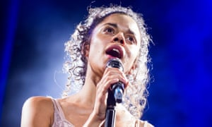 Anoushka Lucas as Mary Magdalen in Jesus Christ Superstar.