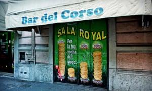 Bar del Corso in Pavia.