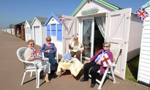 Beach hut in Southend
