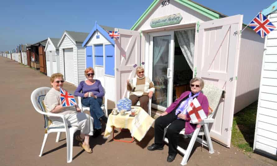 Beach hut in Southend