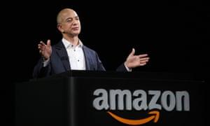 Amazon CEO Jeff Bezo