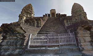 Google Street View of Angkor Wat