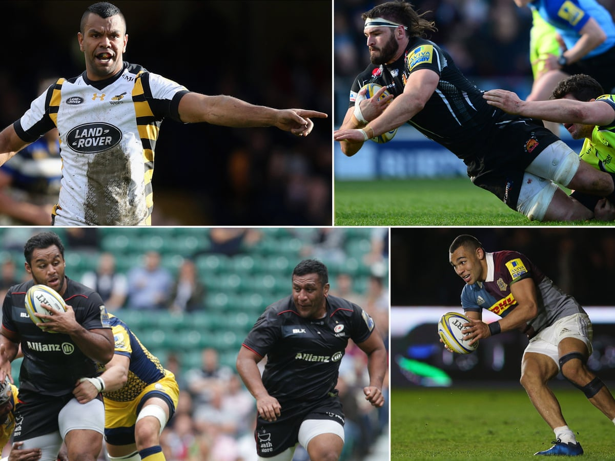 Premiership 2016 17 Team Of The Season Wasps And Saracens Dominate Sport The Guardian