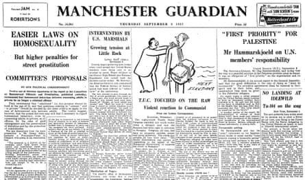 The Guardian, 5 September 1957.
