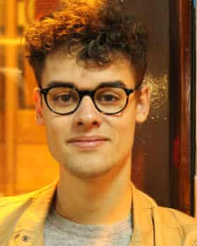Marcus Matthews, a final-year history student at the University of Southampton.
