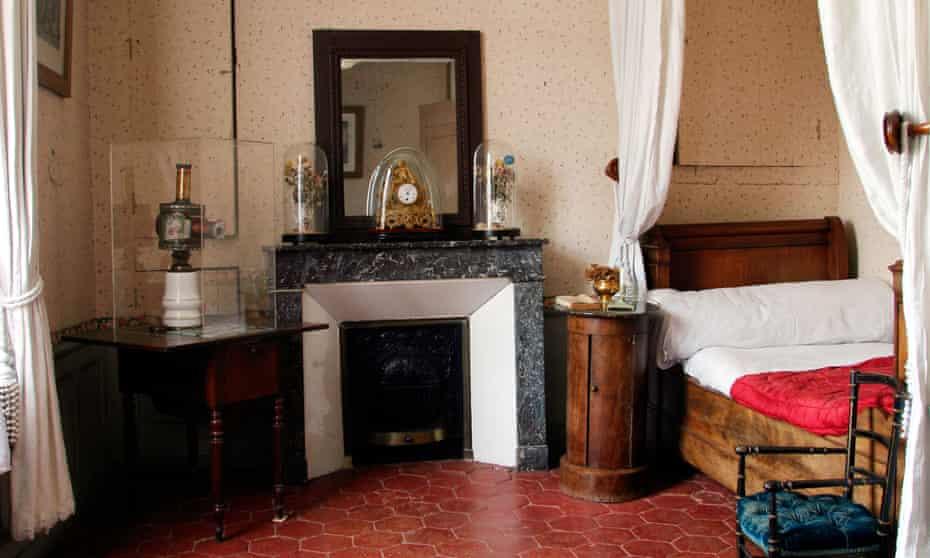 Proust's bedroom at La Maison de Tante Léonie, Illiers-Combray, France.