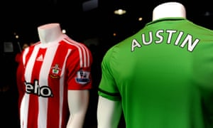 The Southampton club shop wastes little time after the signing of Charlie Austin.