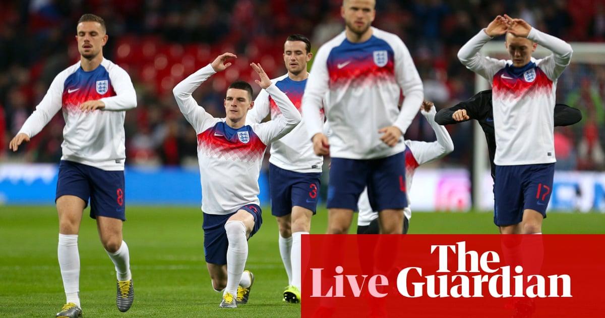 England v Czech Republic: Euro 2020 qualifier –live!   Football   The Guardian