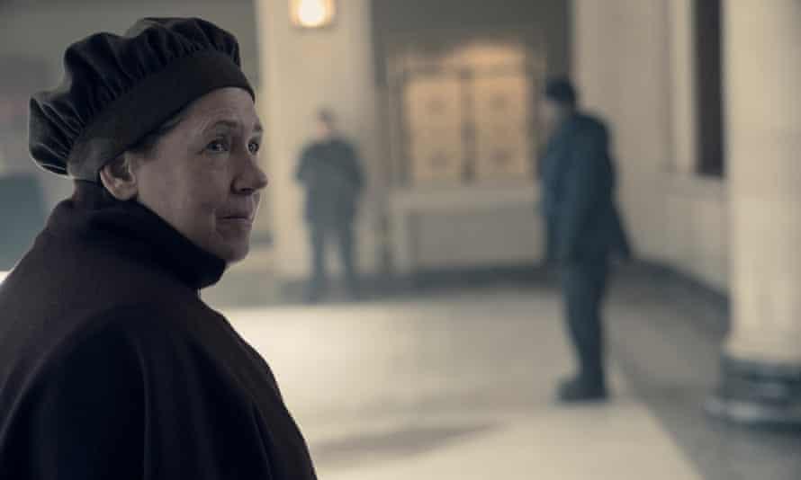 'Are you pumped, dear?' Aunt Lydia (Ann Dowd).