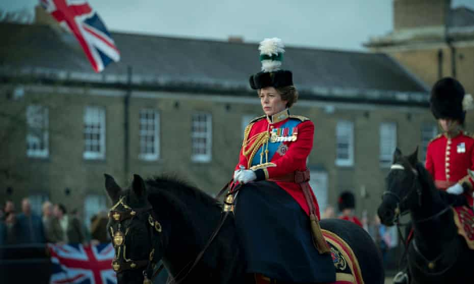 Olivia Colman as the Queen in The Crown series 4