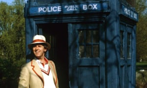 Peter Davison as the Doctor in 1981.