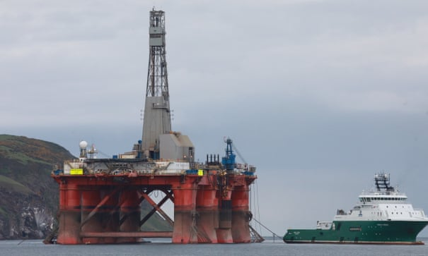 Greenpeace North Sea oil rig protest prompts injunction