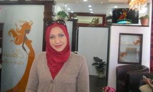 Beautician Walaa Shaltaf from Palestine