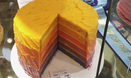 It took me ten hours to make this world-beating rainbow cake. Here's how I did it