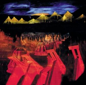 Dalek Invasion, digital composition, 1999 by Stanley Donwood