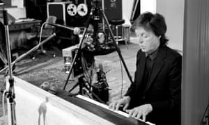 Sir Paul McCartney while filming Pure McCartney.