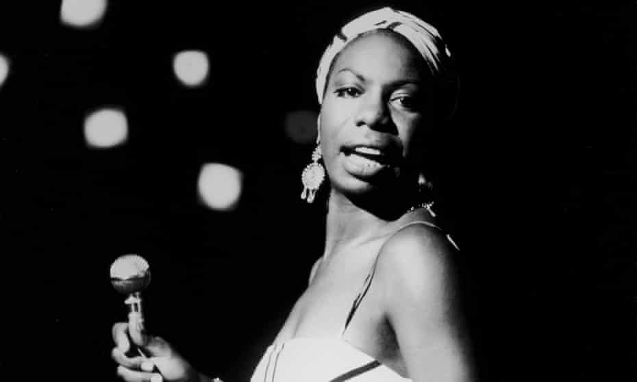Nina Simone in 1964.