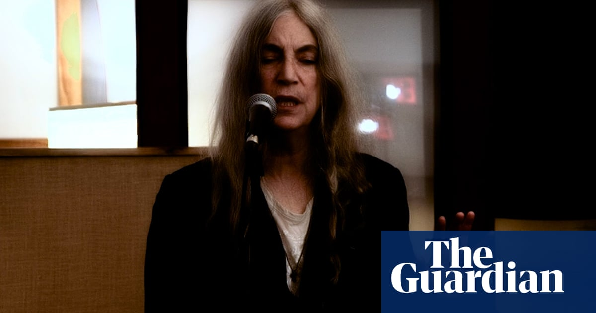 Patti Smith: 'As a writer, you can be a pacifist or a murderer'
