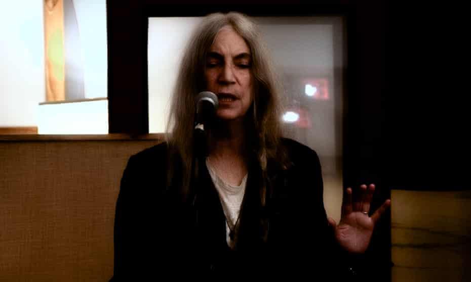 'I feel like I'm part-wolf' ... Patti Smith.