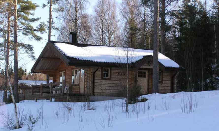 cabin retreat in Värmland, Sweden.