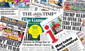 The Brexit summit was a success for the PM, most of the newspaper front pages agreed.