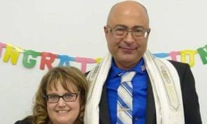 Nicholas Thalasinos with his wife Jennifer.