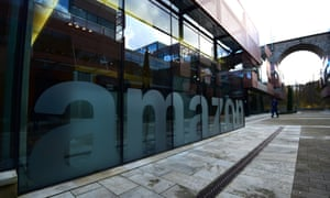 Amazon's European headquarters in Luxembourg.