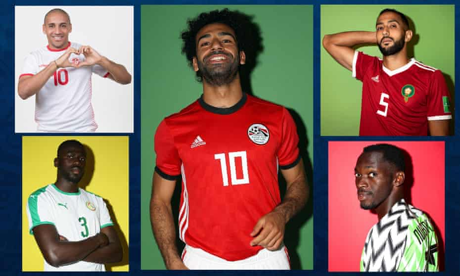Wahbi Khazri of Tunisia, Egypt's Mohamed Salah, Mehdi Benatia of Morocco, Nigeria's Simy Nwankwo and Kalidou Koulibaly of Senegal will all be hopeful of making it to the knockout stages.