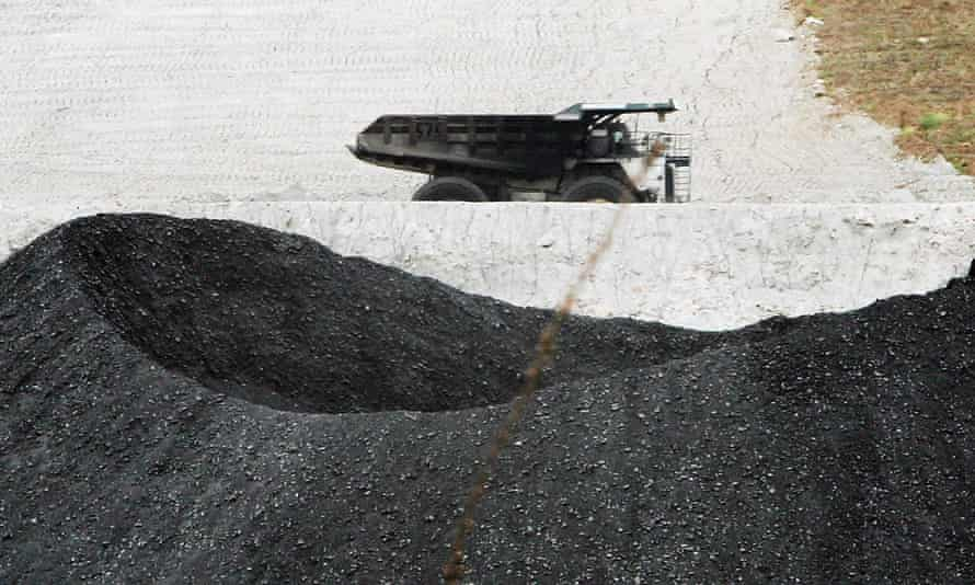 BHP Billiton's Mt Arthur coal mine in Muswellbrook, Australia